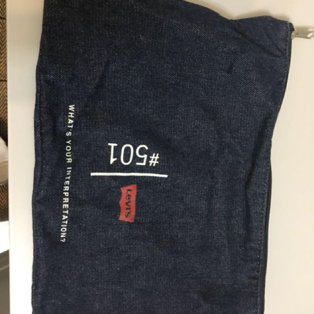 Levi's 雜誌贈品小袋
