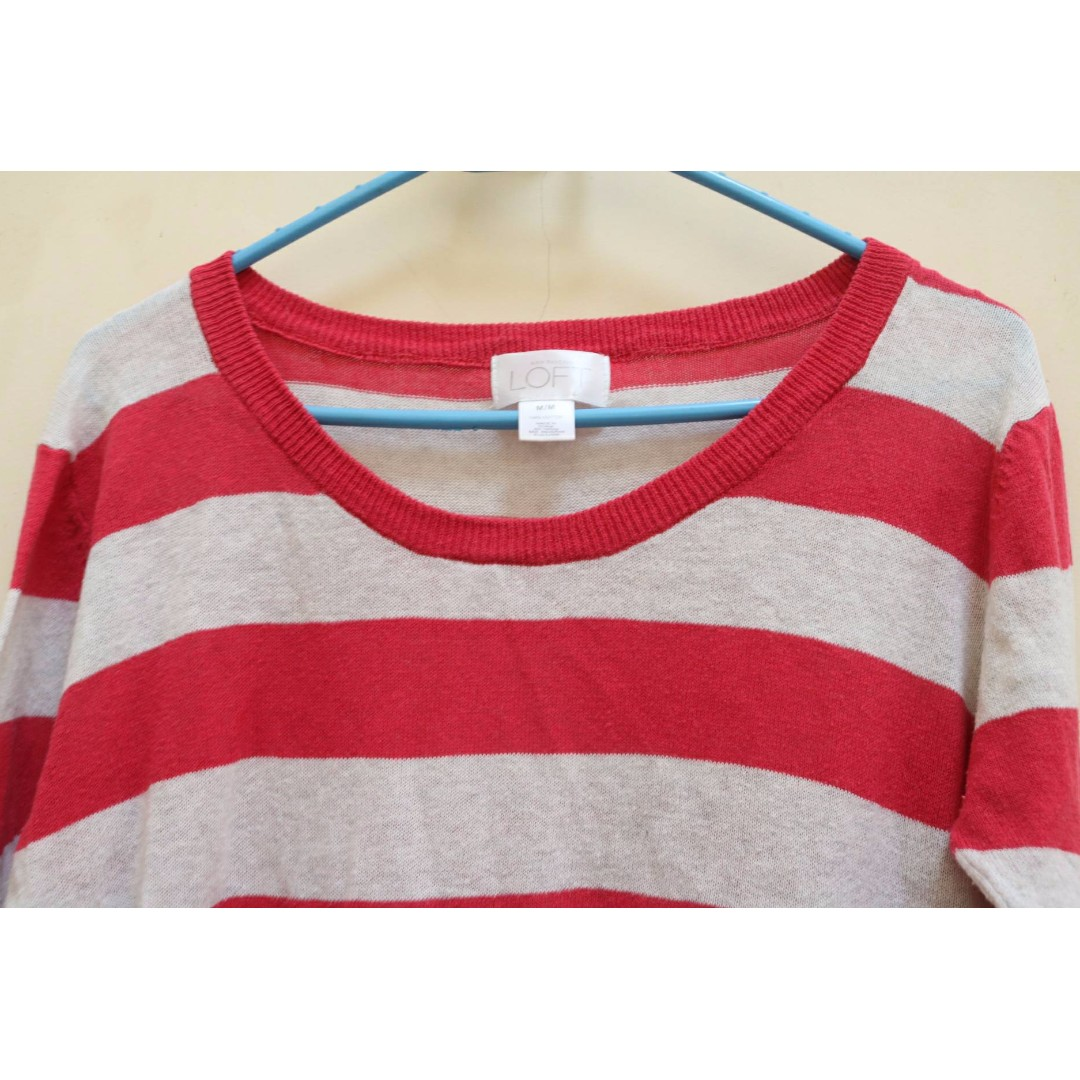 LOFT stripe sweater