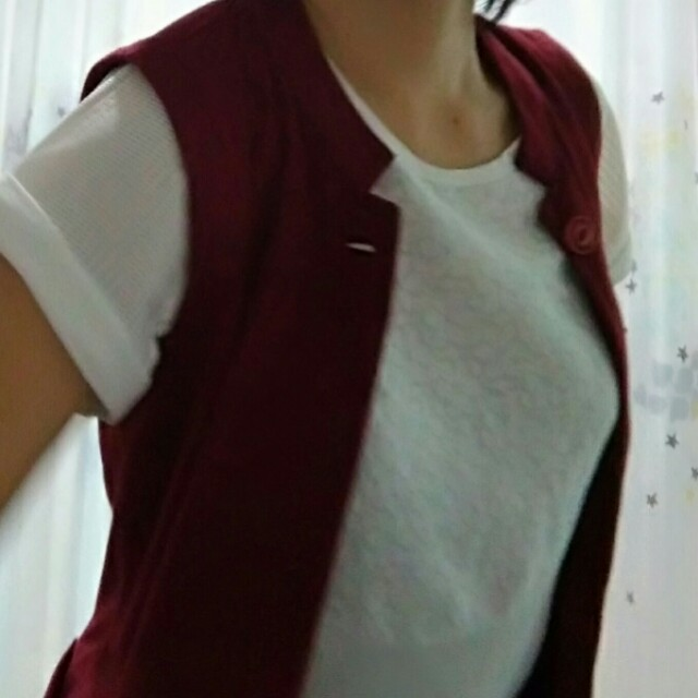 Long Vest & Blouse