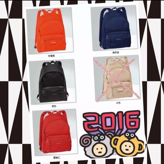 法國代購Longchamp加厚款NEO雙肩後背包(s)