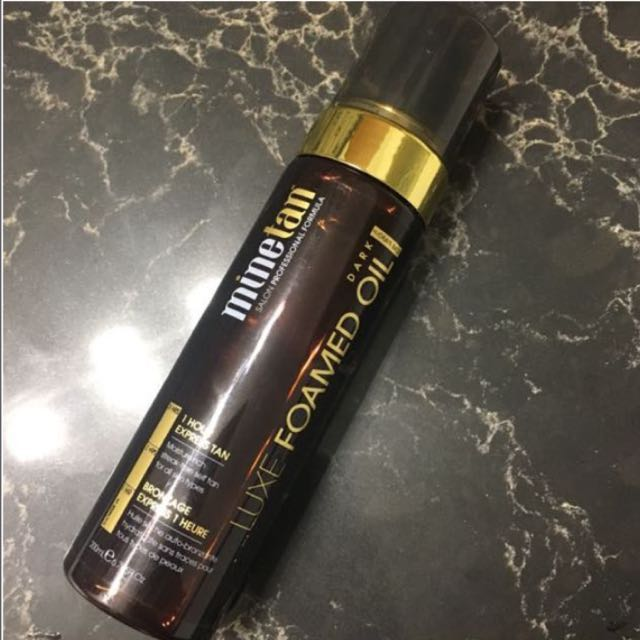 LUXE TANNING OIL FOAM