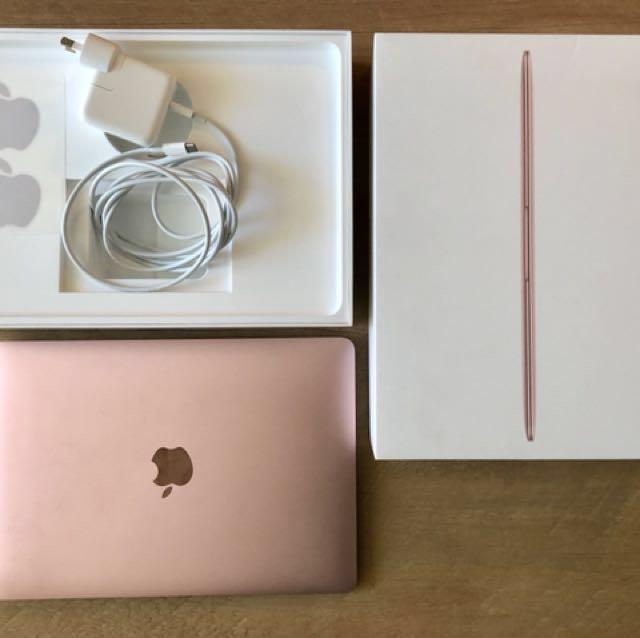 MacBook Rose Gold 2017