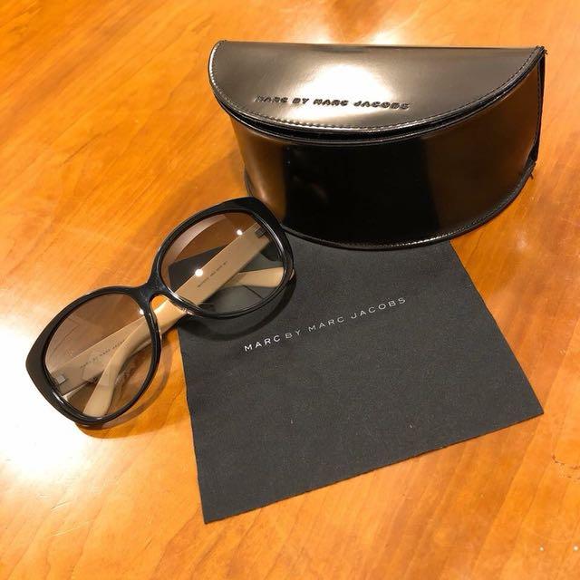 MARC BY MARC JACOBS太陽眼鏡 可愛水玉點點大框款 MMJ375 45NJJ墨鏡🕶️