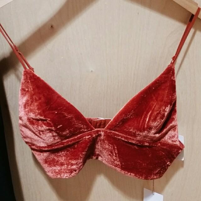 Mendocino Suede Dressy Crop Top