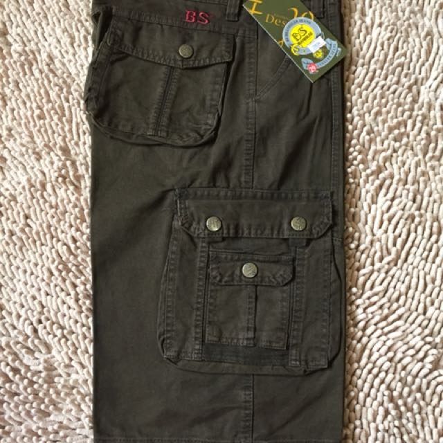 Mens 6 Pockets cargo Shorts