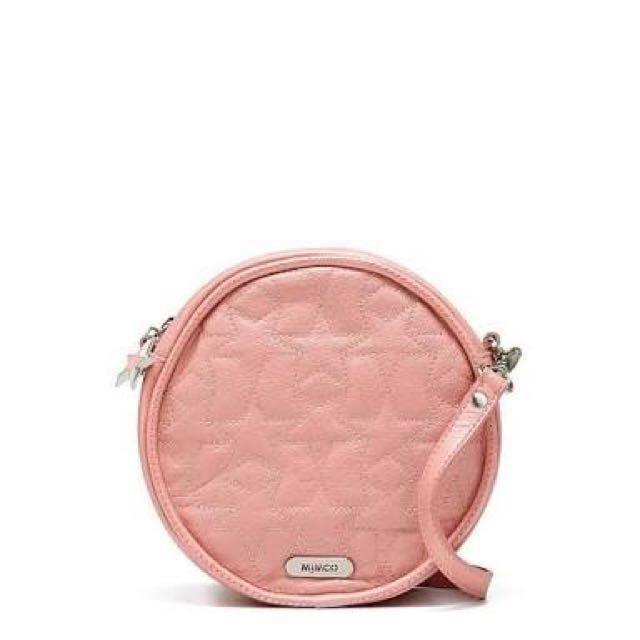 MIMCO Celestical Pink Circle Bag