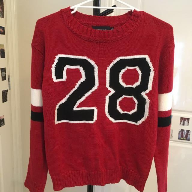 Minkpink sweater / top size M