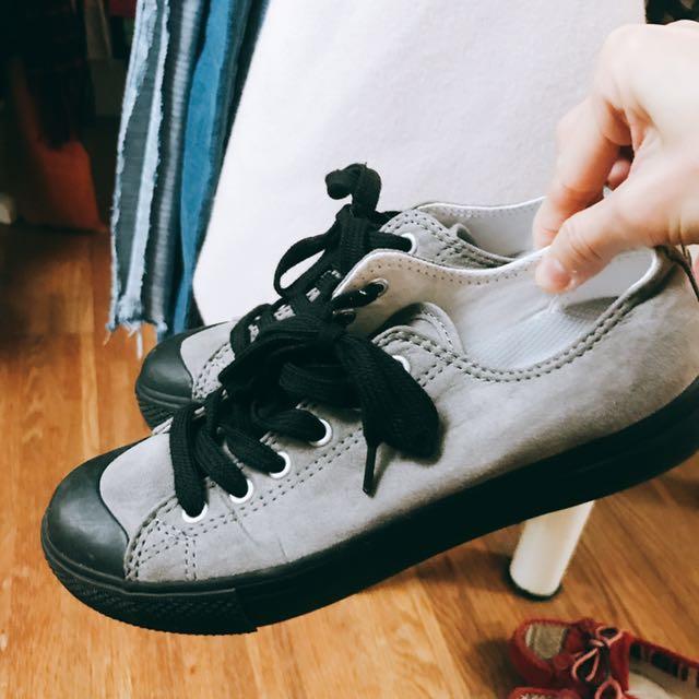 Muji無印良品復古絕版帆布鞋