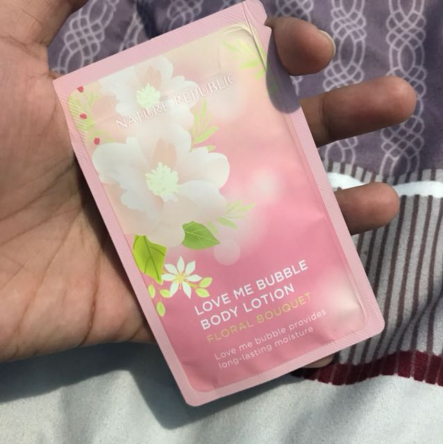 Nature Republic sample lotion