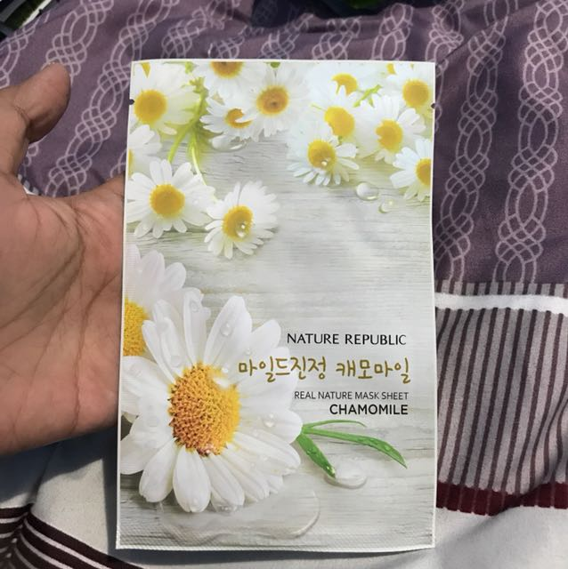 Nature Republic Sheet Mask Chamomile