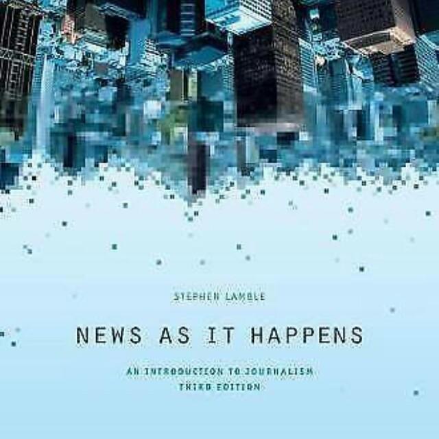 News as it Happens- Stephen Lamble