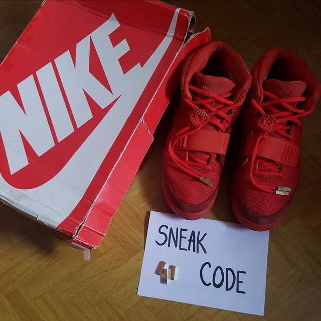 fe15e655c0675c Nike Air Yeezy 2 ( Red October )