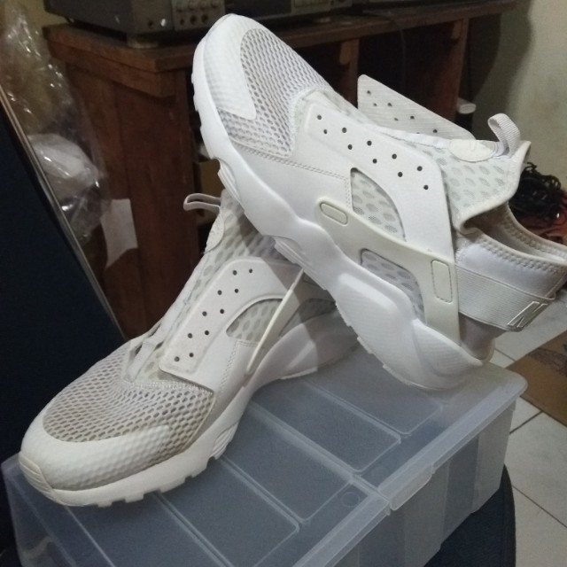 Nike Huarache Run Ultra Br Triple White