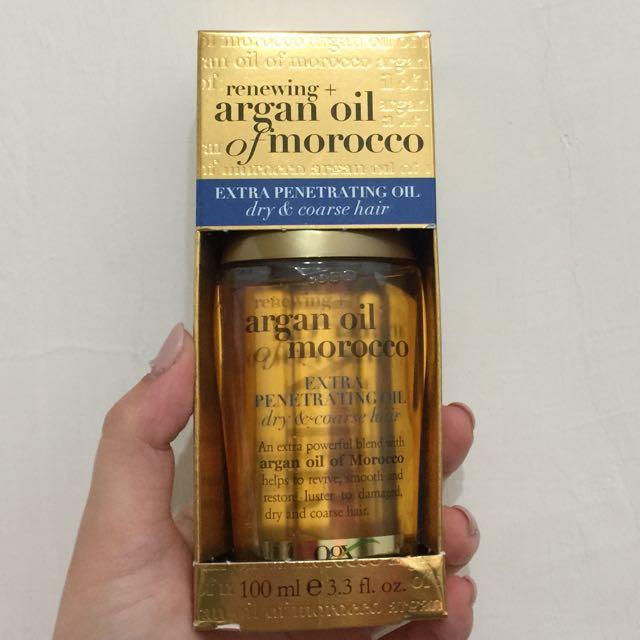 摩洛哥榛果護髮油OGX Penetrating Extra Strength Hair Oil2