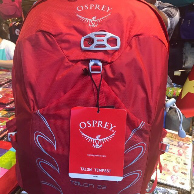 first rate great deals another chance Osprey Talon 22 Red/Black/Green, Men's Fashion, Bags ...