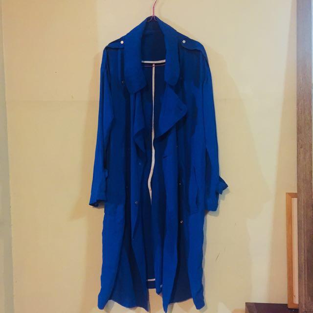 Oversized type long coat (manipis fabric. Pang pinas weather)