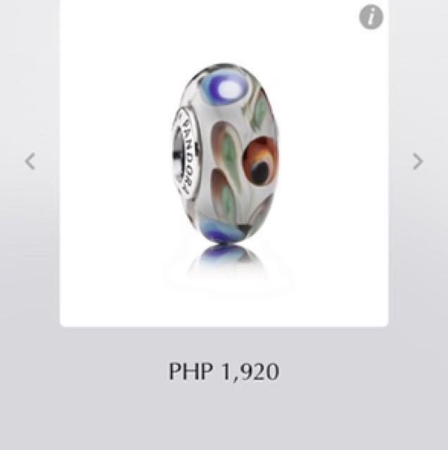 Pandora Folklore Murano Charm