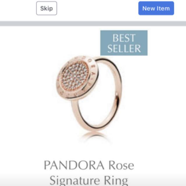 Pandora ring '54