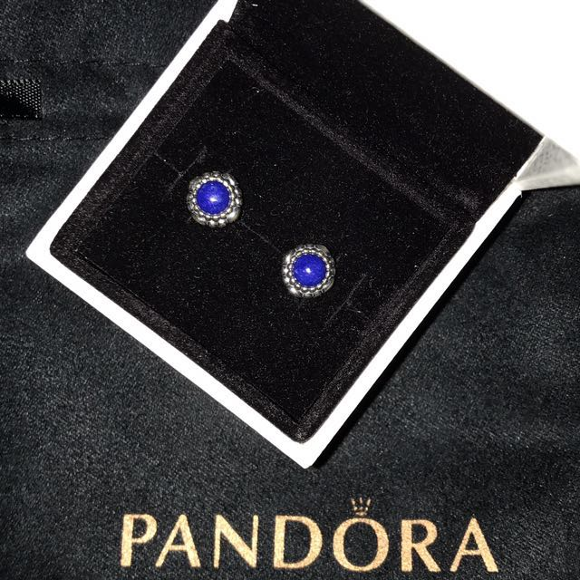 Pandora September Birthstone Earrings Women S Fashion Jewelry On Carou