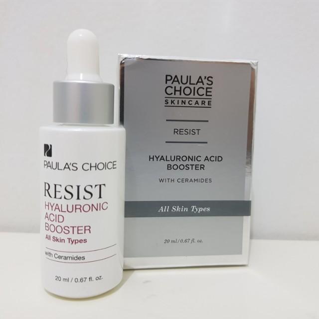 Paula's choice hyaluronic acid