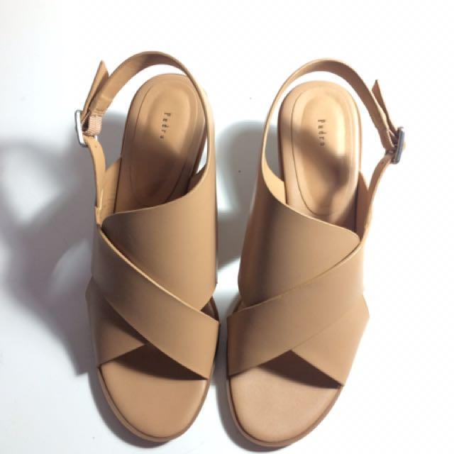 Pedro sandals heels