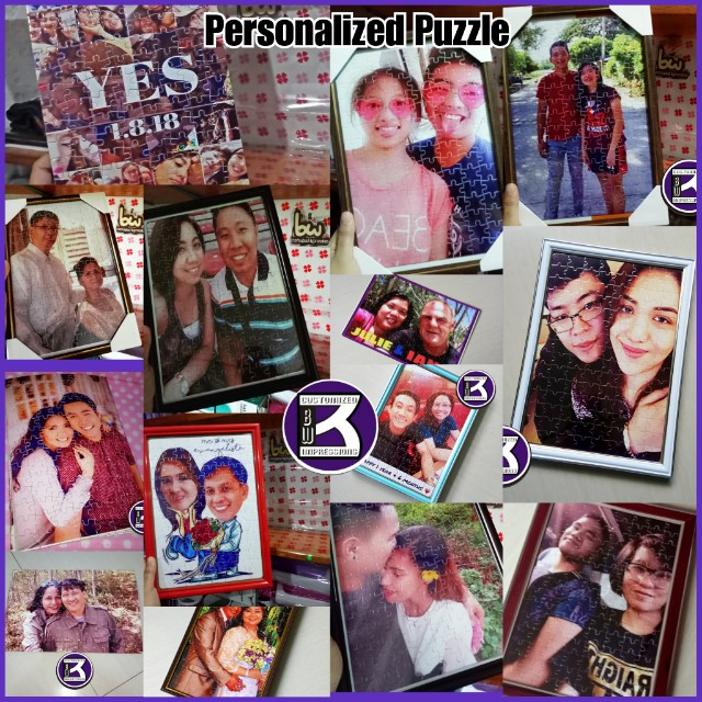 Personalized Puzzle for Lovers