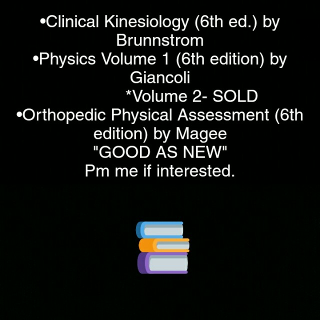 Physical therapy books textbooks on carousell photo photo photo fandeluxe Image collections