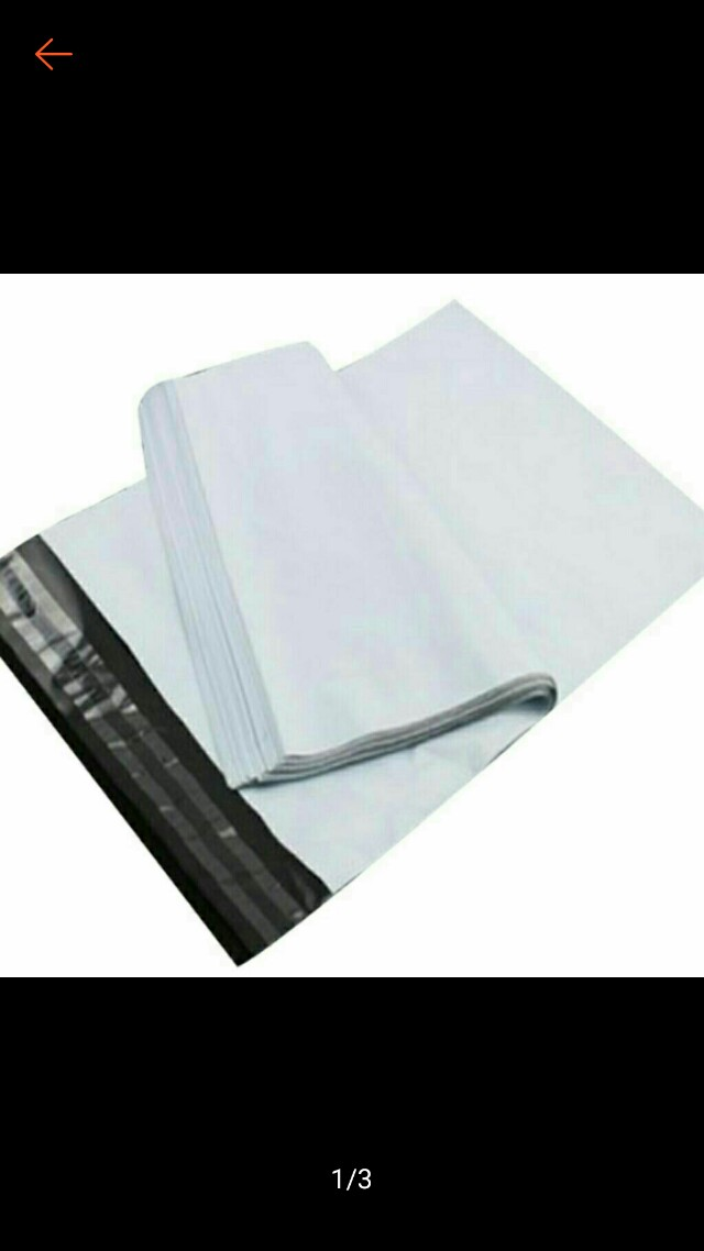 Polymailer 100pcs/Set White Green Logistics Courier Mailing Bag Envelope Shipping Self Adhesive Sea