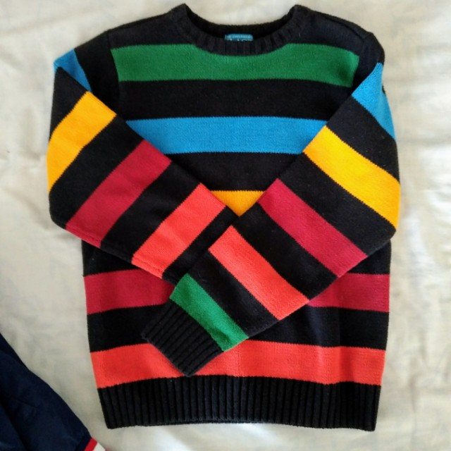 Rainbow stripped sweater