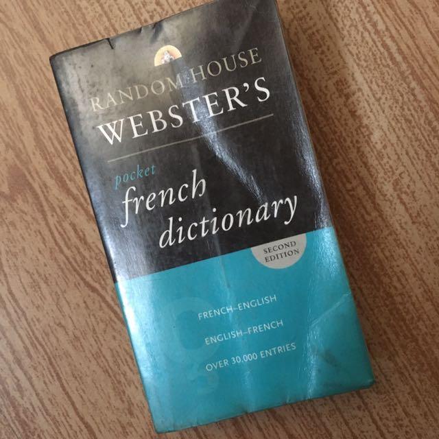 Random house Pocket French Dictionary