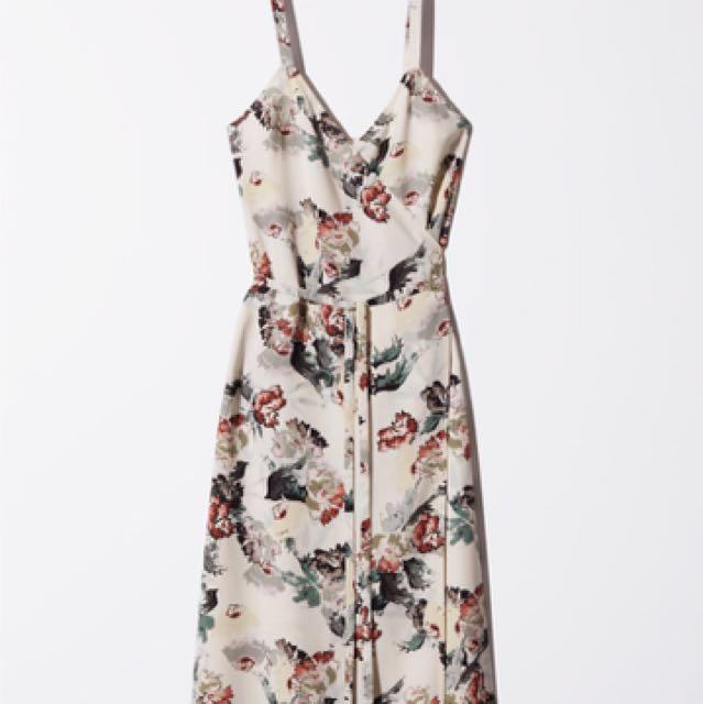 RARE Wilfred ASTERE Dress in Birch/Rosso, sz M