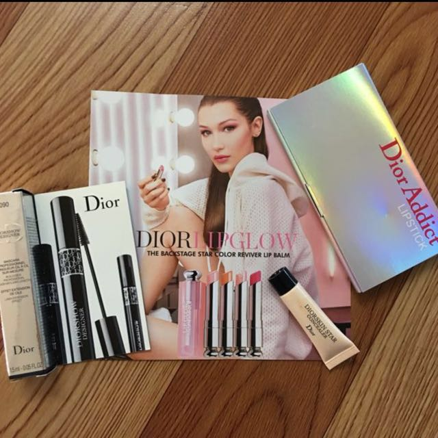 (Recused) Dior Makeup Set
