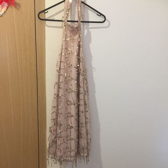 Rose Gold Dress Size 10