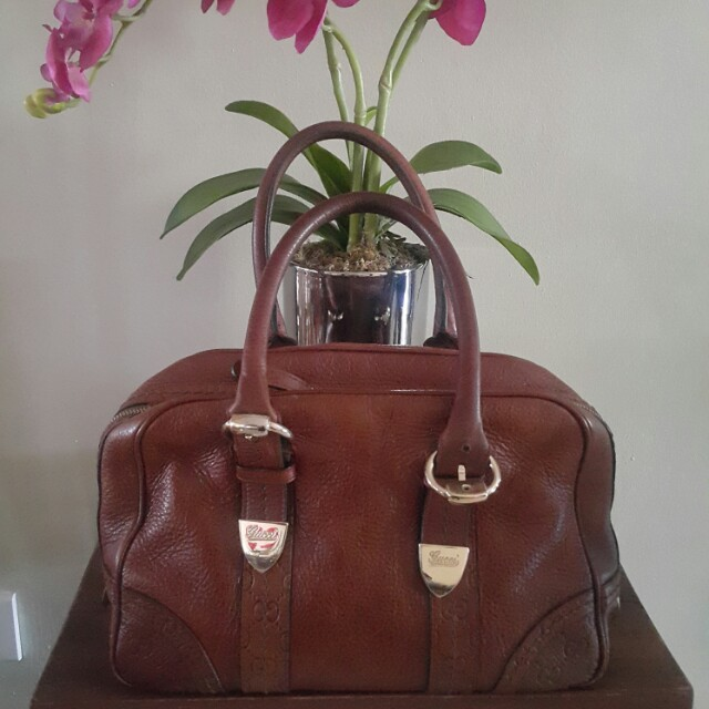 Authentic Preowned Guccissima Bag