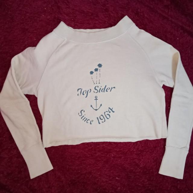 [SALE] Sweater mocca crop
