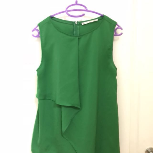 Sfera Sleeveless Top (Green)