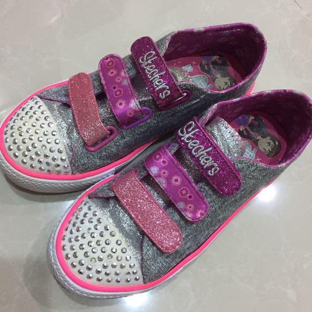 Skechers Girl Sneakers Size UK1
