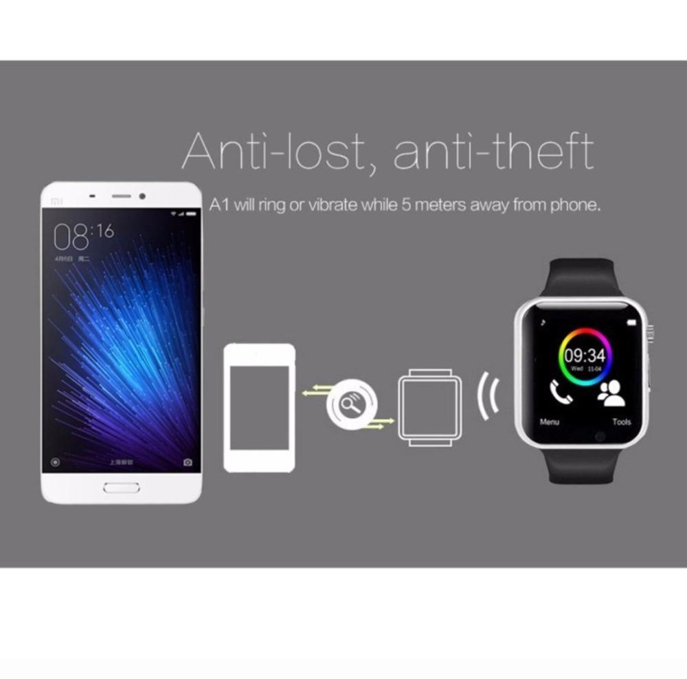 Smartwatch A1 U10 Camera Sim Card Memory Spec Dan Daftar Onix Full Black Smart Watch Support For Android