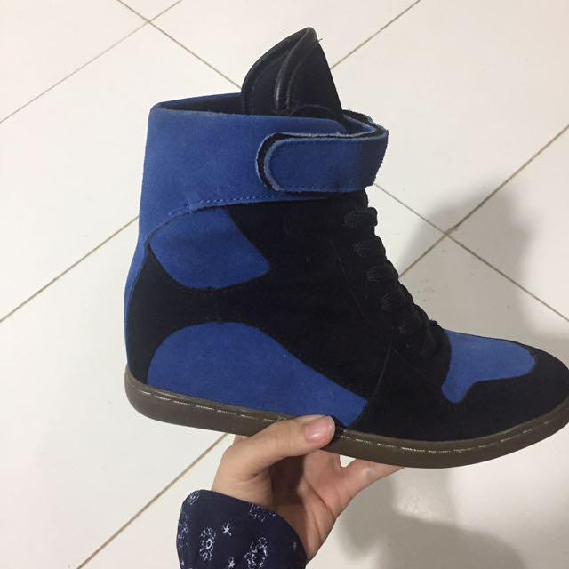 Sneakers Wedges Merk Coiincos Korea High Quality