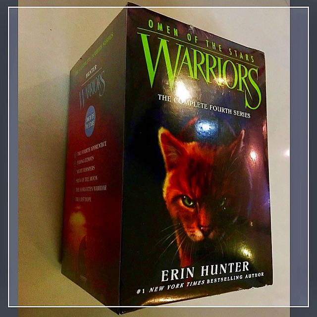 Warriors Book Series Games: (SOLD) BRAND NEW Warriors: Omen Of The Stars Box Set
