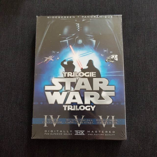 Star Wars Original Trilogy (6-Disc Set Widescreen DVD) Remastered & Original Release!