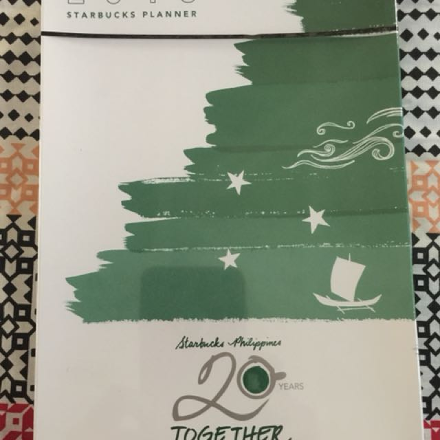 Starbucks 2018 Planner (Big/Green)