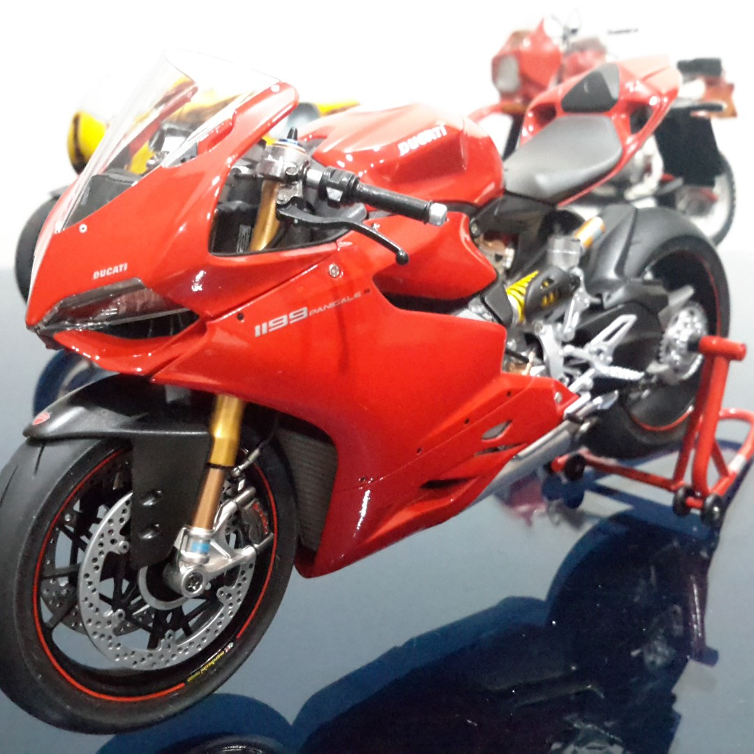 Tamiya 14129 1 12 Ducati 1199 Panigale S Toys Games Other Scale Kits On Carousell