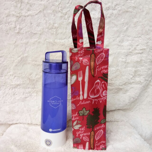Tas botol air - water bottle bag Hydrogen Fontaine