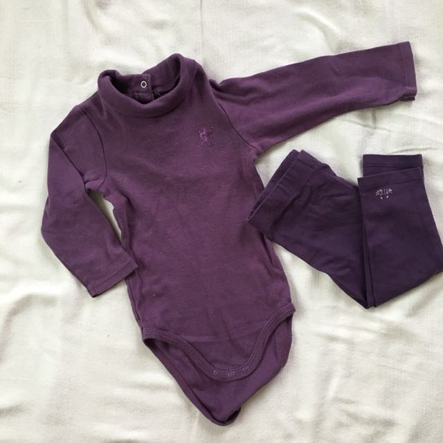 Terno long-sleeved Onesie with Leggings