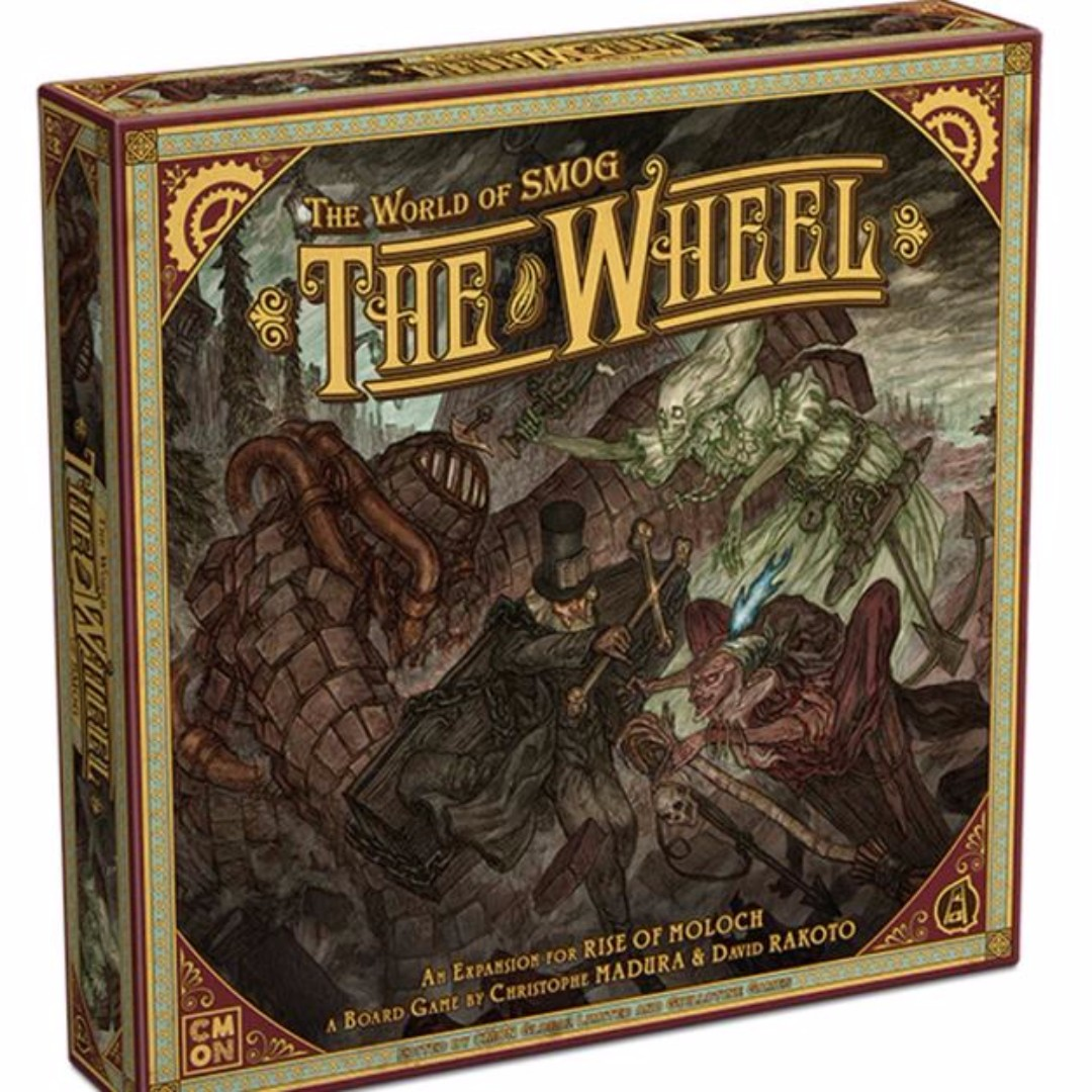 The World Of Smog Rise Of Moloch The Wheel Expansion Toys