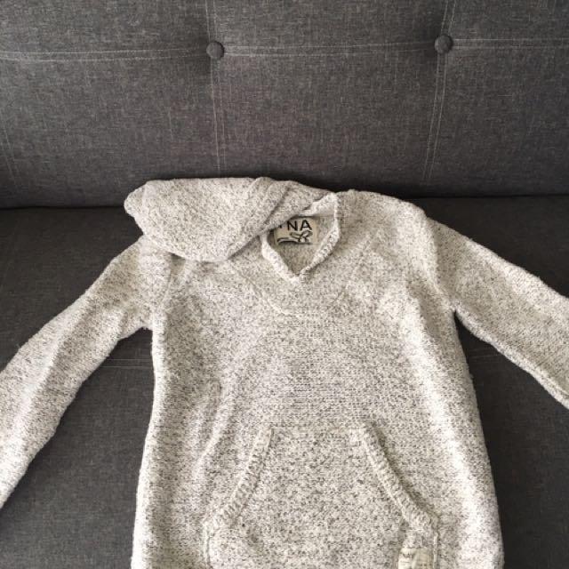 TNA Knit hoodie