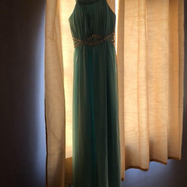 Torquoise Long Dress