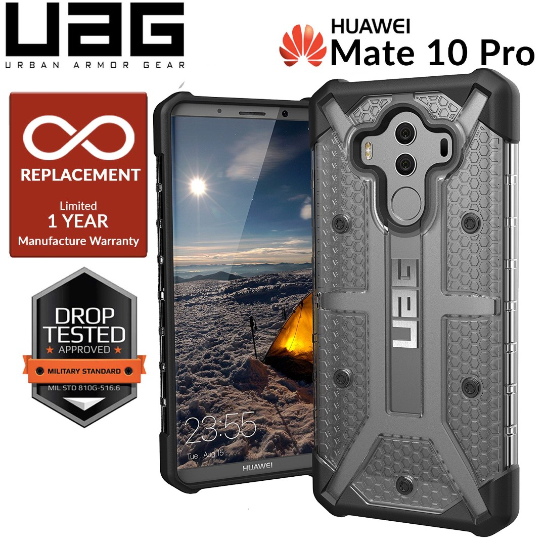 best loved 992da 3c584 UAG Plasma for Huawei Mate 10 Pro Rugged Case - Ash