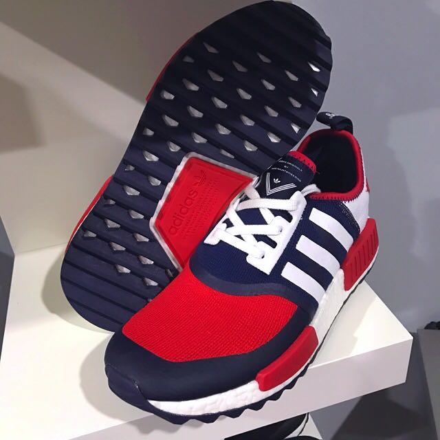 085d928ab UK7.5 - Adidas X White Mountaineering NMD Trail PK  Red And Navy ...